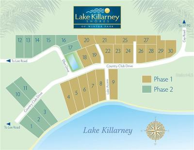 Winter Park Residential Lots & Land For Sale: 529 Country Club Drive