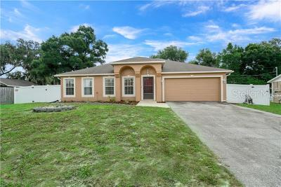 Deltona Single Family Home For Sale: 1332 Nadine Drive