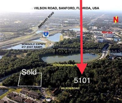 Sanford Residential Lots & Land For Sale: 5101 Wilson Road