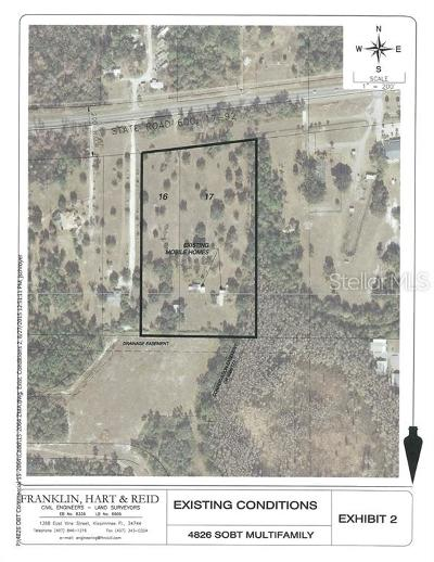 Kissimmee Residential Lots & Land For Sale: 4826 S Orange Blossom Trail