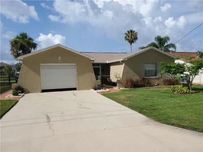 Hudson Single Family Home For Sale: 7424 Mako Drive