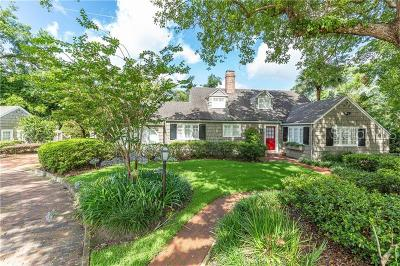 Winter Park Single Family Home For Sale: 160 Glenridge Way
