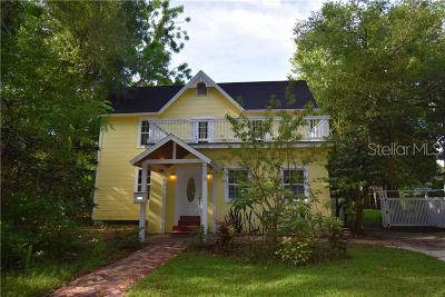 Orlando Single Family Home For Sale: 1918 Nebraska Street