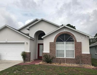 Kissimmee Single Family Home For Sale: 512 Eagle Pointe N