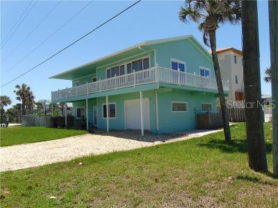 New Smyrna Beach, Daytona Beach, Cocoa Beach Single Family Home For Sale: 6622 Turtlemound Road