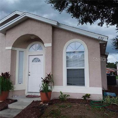 Seminole County Rental For Rent: 430 Horizon Drive