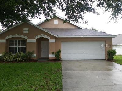 Clermont Single Family Home For Sale: 2811 Wilshire Road