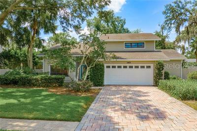 Altamonte, Altamonte Spgs, Altamonte Springs Single Family Home For Sale: 165 N Spring Trail