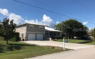 Punta Gorda Single Family Home For Sale: 2911 Caribbean Drive