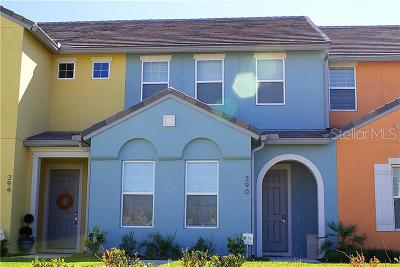 Davenport Townhouse For Sale: 390 Captiva Drive