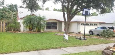 Oviedo Single Family Home For Sale: 1006 Beckstrom Drive