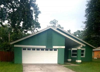Orlando Single Family Home For Sale: 2749 Abney Avenue
