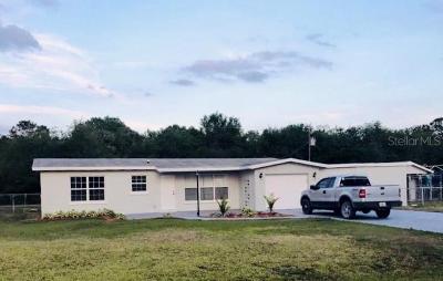 Okeechobee County Single Family Home For Sale: 3886 NW 39th Avenue