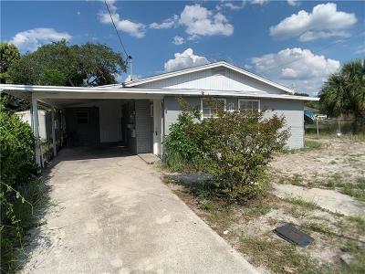 Winter Haven Single Family Home For Sale: 2420 Edwin Street NE