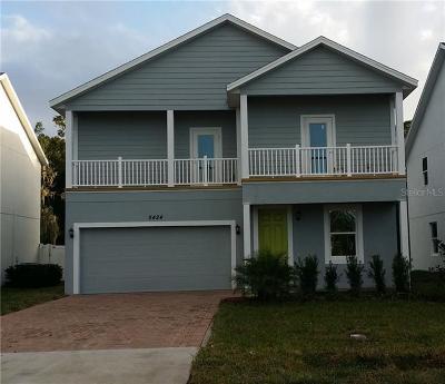 Orlando Single Family Home For Sale: 5424 Sunrise Boulevard