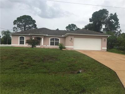 North Port Single Family Home For Sale: 4216 N Fernway Drive N