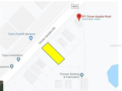 Apopka Residential Lots & Land For Sale: Ocoee Apopka Road