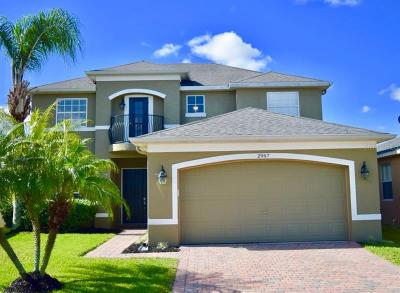 Oviedo Single Family Home For Sale: 2967 Spring Heather Place