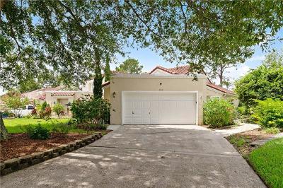 Volusia County, Seminole County, Orange County Townhouse For Sale: 2512 Albion Avenue #2