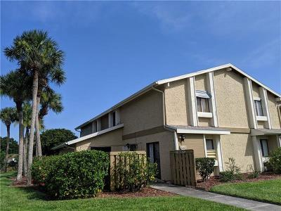 Palm Bay Townhouse For Sale: 1010 Abada Court NE #101