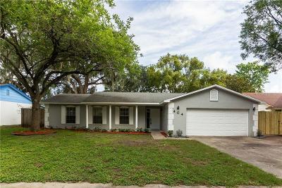 Ocoee Single Family Home For Sale: 404 E Lakeshore Drive