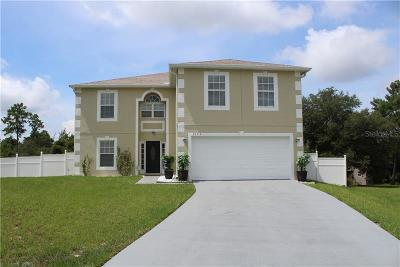 Deltona Single Family Home For Sale: 3193 Quail Drive