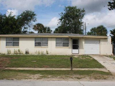 Daytona Beach Single Family Home For Sale: 1130 Lewis Drive