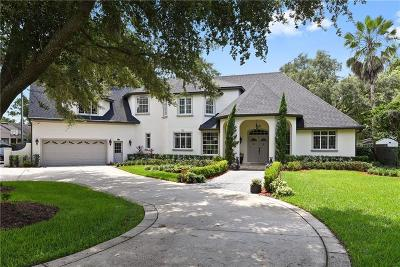 Winter Park Single Family Home For Sale: 8734 Palm Lake Drive