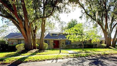 Altamonte Springs Single Family Home For Sale: 135 N Spring Trail