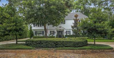 Winter Park Single Family Home For Sale: 999 Mayfield Avenue