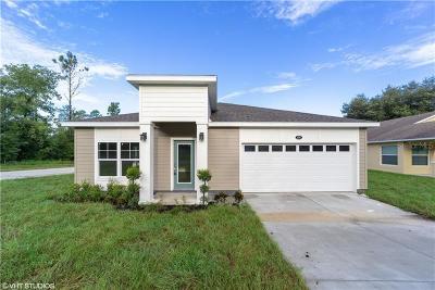 Mascotte Single Family Home For Sale: 350 S Talbott Avenue