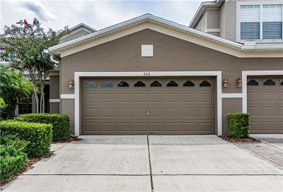 Winter Springs Townhouse For Sale: 606 Cruz Bay Circle