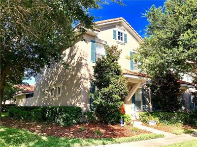 Kissimmee Townhouse For Sale: 3140 Via Otero Drive