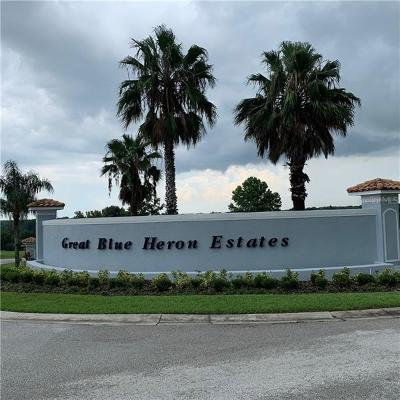 Residential Lots & Land For Sale: 18307 Great Blue Heron Drive