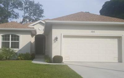 Rotonda West Single Family Home For Sale: 105 Red Cedar Park