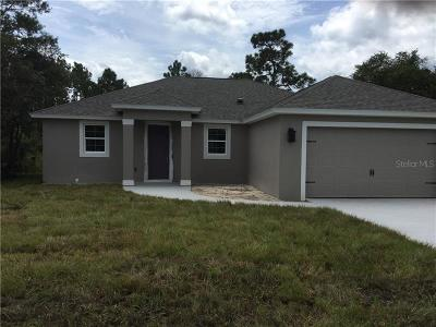 Deltona Single Family Home For Sale: 3459 Florentine Street