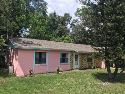Winter Springs FL Single Family Home For Sale: $179,900