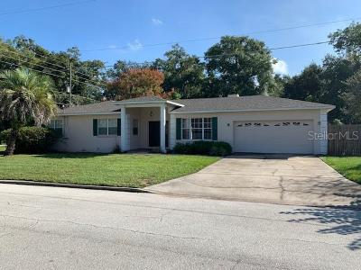Orlando Single Family Home For Sale: 1900 Nebraska Street