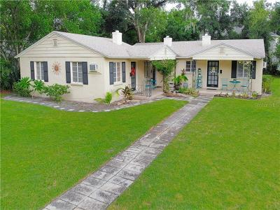 Winter Park Multi Family Home For Sale: 1005 Garden Drive