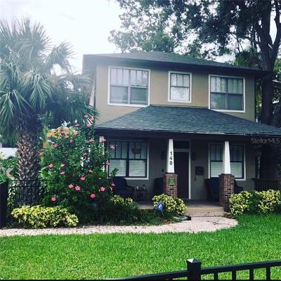 Orlando Single Family Home For Sale: 148 S Thornton Avenue