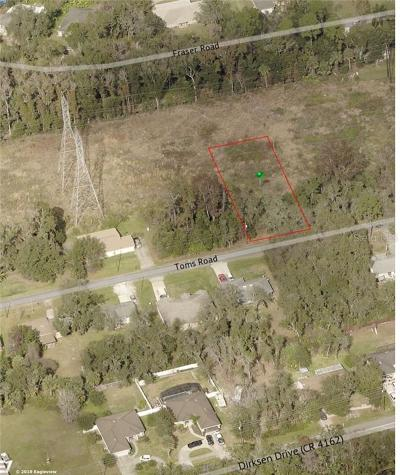 Debary Residential Lots & Land For Sale: 254 Toms Road