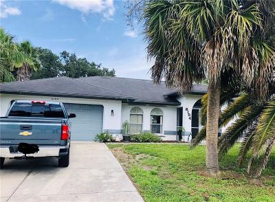 Charlotte County Single Family Home For Sale: 6184 Roberta Drive