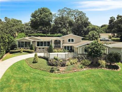 Eustis Single Family Home For Sale: 2537 E Crooked Lake Drive