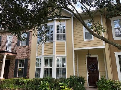Winter Park Townhouse For Sale: 1253 Indiana Avenue