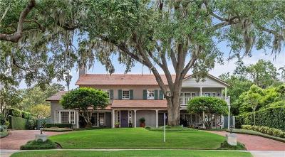 Orlando Single Family Home For Sale: 3000 Lake Shore Drive