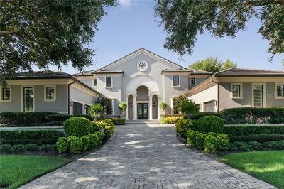 Orlando FL Single Family Home For Sale: $3,100,000