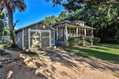 New Smyrna Beach, Daytona Beach, Cocoa Beach Single Family Home For Sale: 3054 N Dixie Freeway