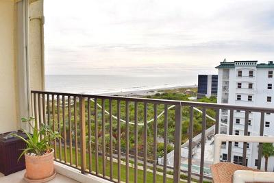 New Smyrna Beach, Daytona Beach, Cocoa Beach Condo For Sale: 1830 N Atlantic Avenue #805