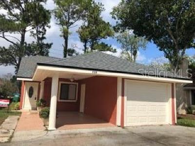 Winter Springs Single Family Home For Sale: 733 Ridgewood Way