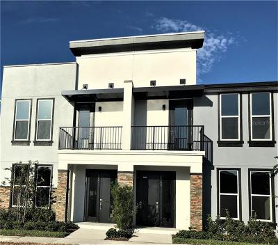 Kissimmee Townhouse For Sale: 1753 Houston Street #2